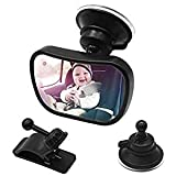 Specchio auto Specchietti retrovisori controllo bimbo Bambino Baby Bambino Vista posteriore Specchio specchietto retrovisore bambino Specchio per Auto sedile posteriore specchio