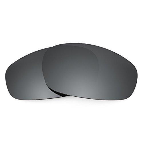 Revant Ersatzlinsen für Oakley Split Jacket Schwarz Chrom MirrorShield®