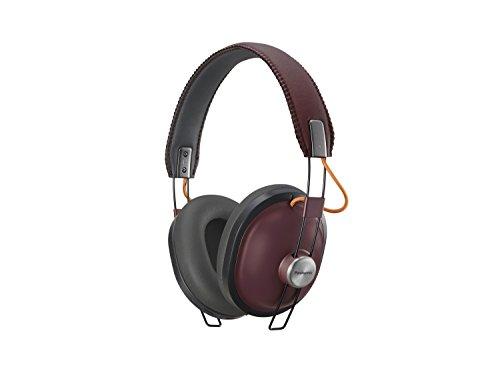 Panasonic Bluetooth Kopfhörer RP-HTX80BE-R in bordeaux (Over-Ear, bis 24 h Akkulaufzeit, Quick Charge, 40mm Wandler, Sprachsteuerung)