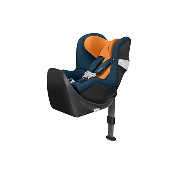 CYBEX Gold Sirona M2 i-Size Car Seat, Incl. Base M, Incl. SensorSafe chest clip, From Birth to approx. 4 years, Up to Max. 105 cm Height, Tropical Blue  Cybex gold car seat sirona m2 i-size incl. sensorsafe incl. base m Item number: 519001849 Colour: tropical blue 1