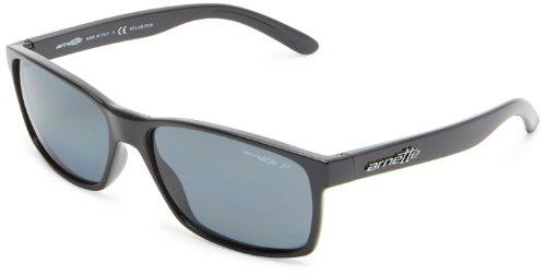 Arnette 0an4185 41/81 58, occhiali da sole uomo, nero (black/polargray)