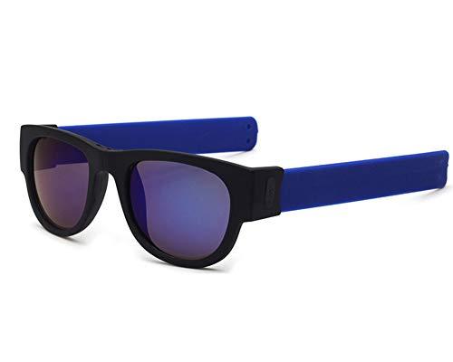 XINLAI Das Neue Automatischer Klapp Armband Polarisierenden Sonnenbrillen Automatische Anpassung Der Sportbrille Fahrradbrille UV-Schutz Bruchsichere Windschutzbrille Reiten Laufen Strand (D)