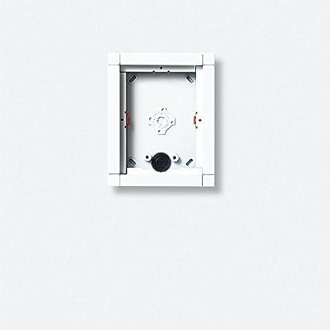 Siedle 4915713 - Montaggio a superficie della scatola 1 modulo, ga 612-1 / 1-0 w, bianco