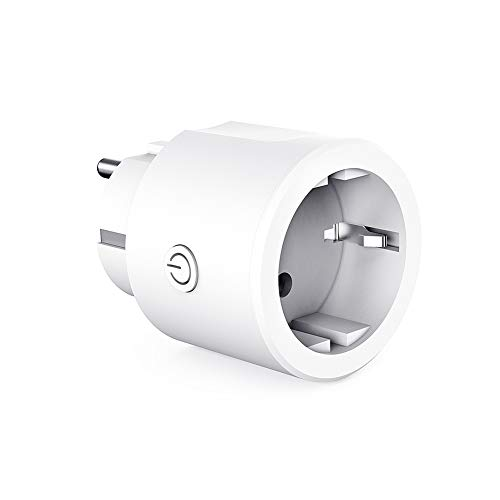 YAGALA La presa Smart WiFi funziona con Amazon Alexa Echo/Echo Dot Google Home e IFTTT Mini Presa domestica wireless con app Telecomando Funzione di temporizzazione Nessun hub richiesto (1 Pezzi)