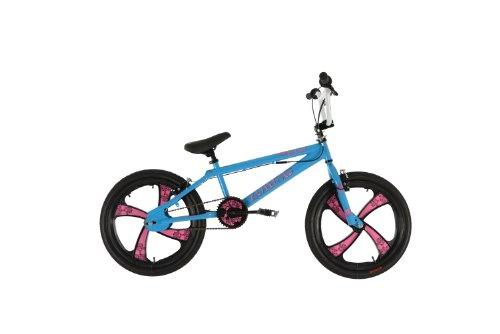 Zombie fille de Peste Vélo BMX–(Bleu/Rose, 7ans et +, 25,4cm, 50,8cm)