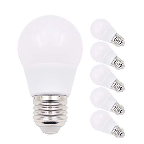 0, 3 W, entspricht 30 W, E27-Sockel, rosa LED-Chips, Party-Dekoration, Veranda, Zuhause, Urlaubsbeleuchtung, dekorative Beleuchtung, nicht dimmbar, 6 Stück ()