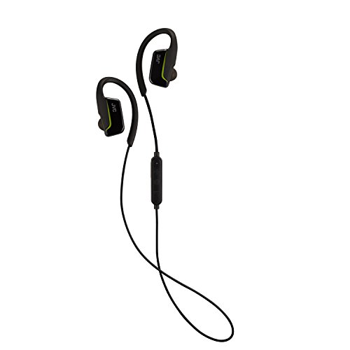 JVC AE Wireless Sports Bluetooth In Ear with Over Ear Clip - Black