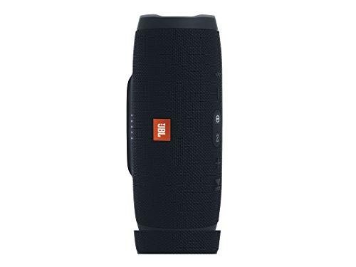 JBL Charge 3 Tragbarer Bluetooth-Lautsprecher (wasserdicht, mit 6000 mAh Power Bank und Freisprechfunktion) schwarz -