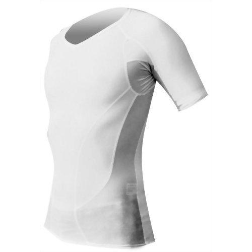 Vor Schulterzucken (KataRaku Entlastungsshirt Damen, Weiß, Gr. M (Gr. 40 - 42) - löst Schulterverspannungen, Nackenverspannungen, korrigiert die Körperhaltung und mobilisiert die Faszien)