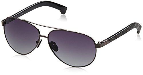 Fastrack Aviator Sunglasses (Gun Metal) (M134BK1) image
