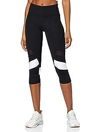 Amazon-Marke: AURIQUE Damen Capri Stripe sport leggings