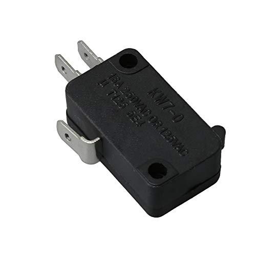 RDEXP WP207166 Mikrowellen-Spenderschalter für Whirlpool Maytag AP6005728 PS11738787, ersetzt AP6005728 2-7166 207166 PS11738787, Schwarz (Maytag Mikrowelle)
