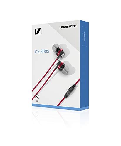 Sennheiser CX 300S In-Ear-Kopfhörer mit Universal Smart Remote, rot - 5