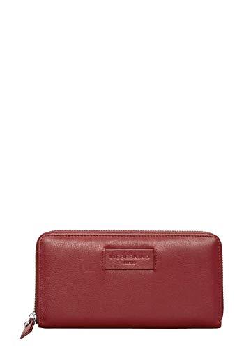 Liebeskind Berlin Damen Essential Sally Wallet Large Geldbörse, Rot (Italian Red), 2x9x19 cm