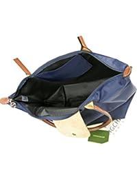 Longchamp - Bolso de tela para mujer large