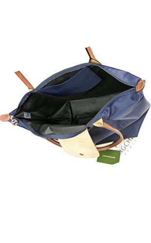 Longchamp, Damen Tote-Tasche Blau Marineblau Large -