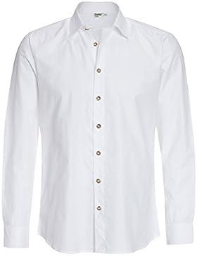 Distler Herren Trachten-Hemd Daniel Shirt,Oberteil,trachtlich,Langarm,Männer,Lederhose