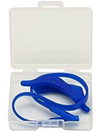 EnzoDate 3 Sets Pack Lunettes enfants Cordons en silicone et ponts de suspension, lunettes pour enfants Serrures à oreilles avec bande de bande Récepteur