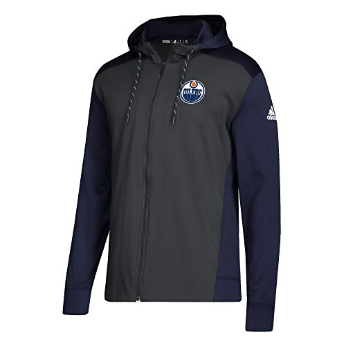 Adidas NHL Edmonton Oilers Full Zip Hood X Large