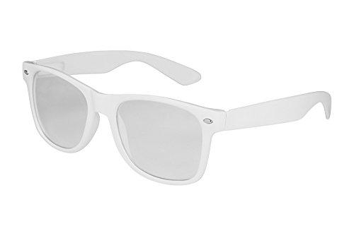 X-CRUZE 1-004 X 07 Nerd Brille ohne Stärke Vintage Retro Style Stil Klarglas Hornbrille Modebrille...