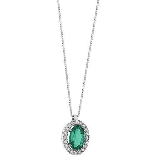Collana donna gioielli comete storia di luce elegante cod. glb 1432
