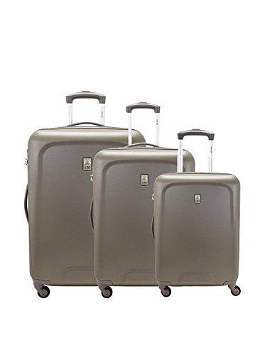 Delsey – Juego de maletas  marrón marrón L53.0 x H76.5 x P29.0 cm