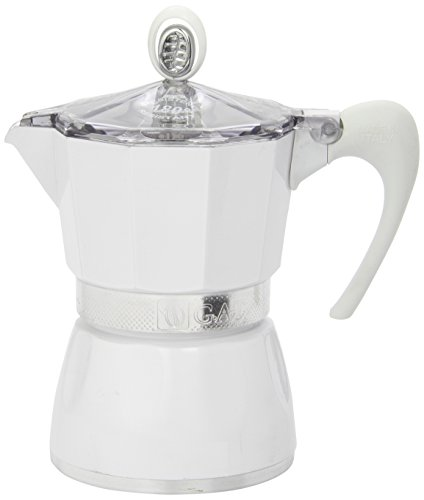 G.A.T. 2790000080 - Cafetera italiana, color Blanco