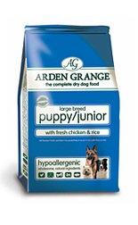 Arden Grange Puppy/Junior Large Breed with Fresh Chicken & Rice 15kg 15000g by Arden Grange