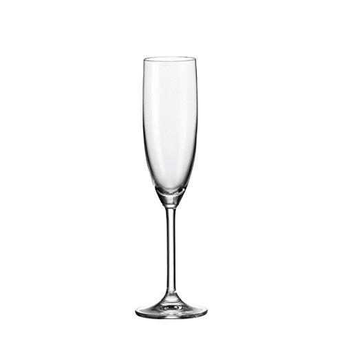 Leonardo Daily verres, Lot de 6 Verres à Champagne, 198,9 ml neutre