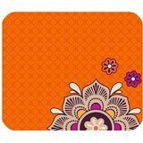 Vera Bradley Flower Print pattern Orange Customized