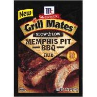 Grill Mates ® Langsam & Niedriger Memphis Grube BBQ Einreibe Gewürz (Grube Grill)