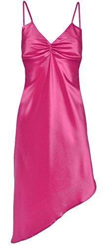 DKaren Mesdames Luxe Satin Sexy Nuisette Chemise de nuit Lingerie - DARIA pink