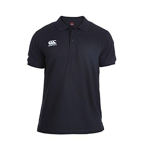 Canterbury Herren Waimak Poloshirt, Schwarz, 2XL -