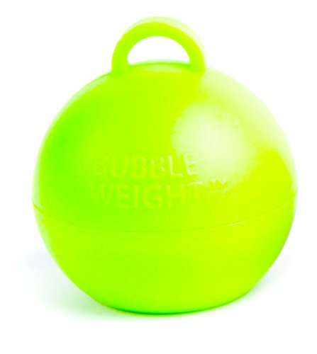 Bubble Weights Lime Green 25pk