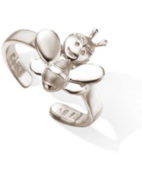 Kinderschmuck Ring Biene aus 925 Sterlingsilber in schönem Geschenkbeutel