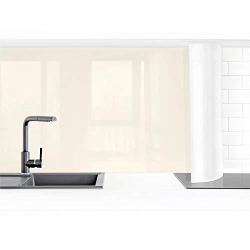 Bilderwelten Küchenrückwand Folie selbstklebend wasserfest Kaschmir 100 x 350 cm Smart