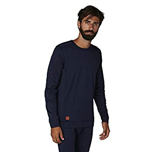 3161oKtcqCL. SS300  - Helly Hansen Mens Lifa Max Crewneck Workwear Base Layer Top