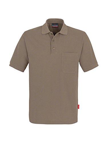 Pocket-Poloshirt Performance Nougat