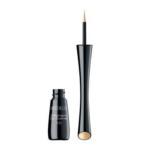 Artdeco Calligraphy Dip Eyeliner 12, Gold, 1er pack (1 x 3 g)