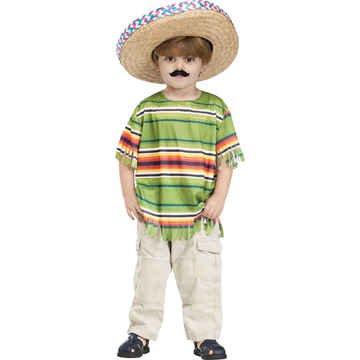 Kinder Größe kleiner Amigo mexikanisches Kostüm Small 3-4 (Kostüme Amigo Kleine)