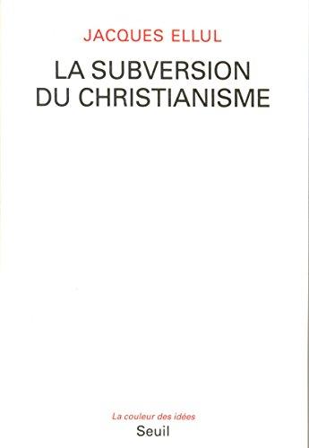 Livre gratuits La Subversion du christianisme epub, pdf