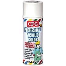 Bomboletta spray acrilico professionale NERO OPACO