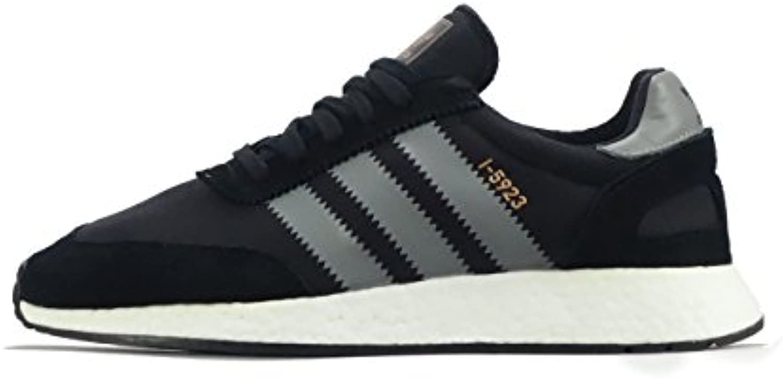 Adidas I-5923, Zapatillas de Deporte para Hombre, Negro (Negbás/Gritre/Ftwbla 000), 41 1/3 EU