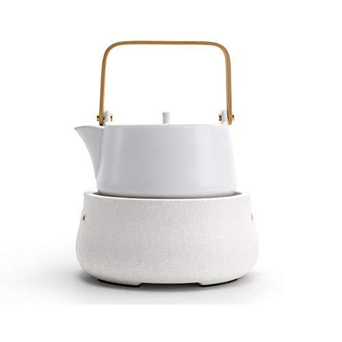 NBCDY Juego de Estufa de té de cerámica