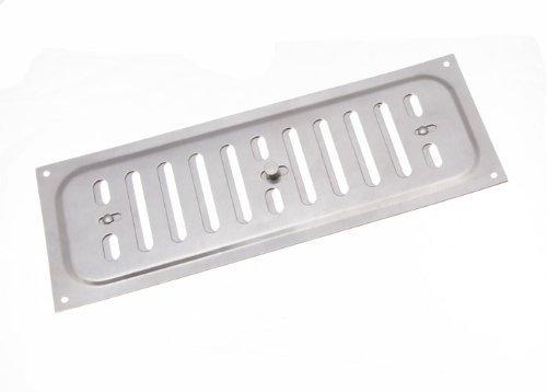 Aluminium Glücksache Louvre ventilation Abdeckung 9 x 3 Zoll (1er-Pack)