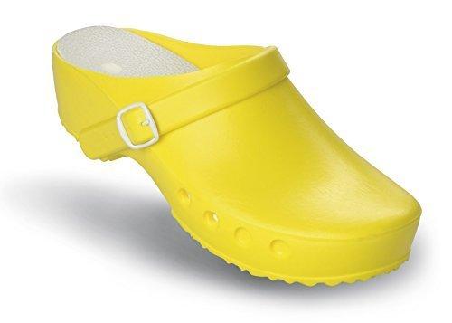 Schürr OP-Schuhe Chiroclogs Classic mit und ohne Fersenriemen Jaune