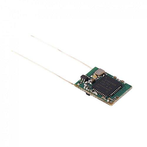 dsm2 empfaenger MagiDeal 2.4G DSM2 DSMX Kompatibel 8-Channel Mini Empfänger Regler Receiver Doppelantenne mit PPM Dscport für RC Quadcopter