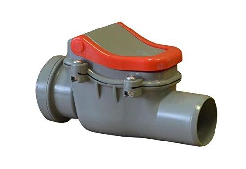 Aquer - Valvola antiritorno diametro DN 50con tappo, antiriflusso