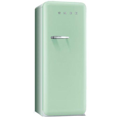 Smeg FAB28RV1 Standkühlschrank / A++ / 248 L / Grün / mit integriertem Gefrierteil / Rechtsanschlag