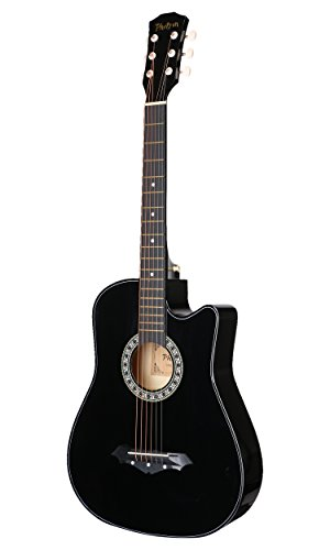 7. Photron 38 Inch Cutaway Acoustic Guitar